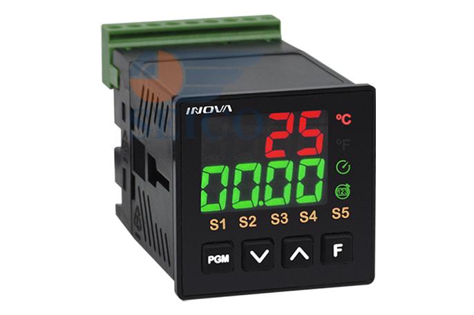 Control digital para horno